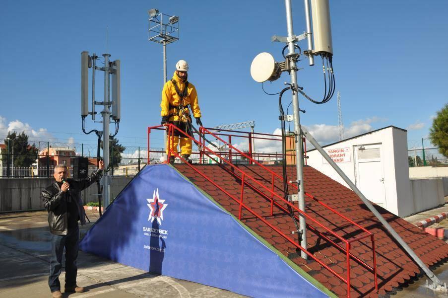 Yüksekte Çalışma Eğitimleri – Vodafone İş Güvenliği Bilinçlendirme Etkinliği